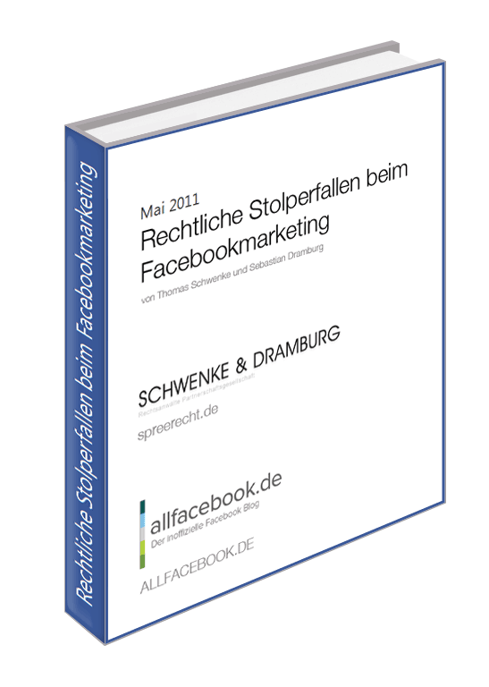 Rechtliche Stolperfallen beim Facebookmarketing Gratis E-Book