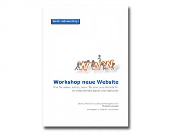 Kostenloses E-Book: Workshop Neue Website