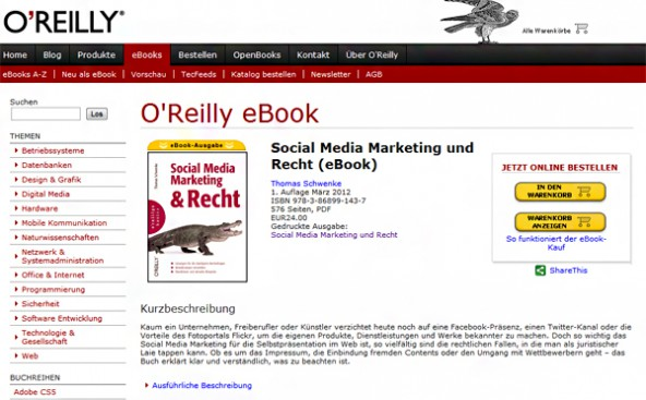 Social Media Marketing und Recht (eBook)
