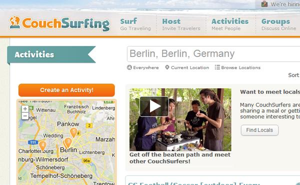 Couchsurfing.org verschreckt Nutzer mit neuen AGB