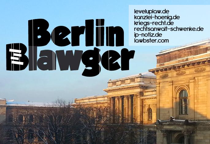 Berlin Blawger Spendenaktion. Machen Sie mit und hören Sie uns singen.