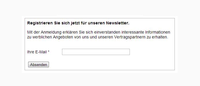 Birgt Ihr E-Mail-Newsletter ein Abmahnrisiko? - Unzureichende Informationen