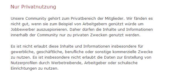 Social Media Monitoring & CRM - Erfassungsverbot