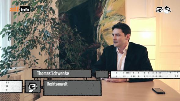 Rechtsanwalt Thomas Schwenke - Elektrischer Reporter #60