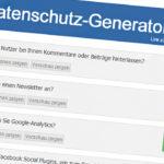 Datenschutz-Generator