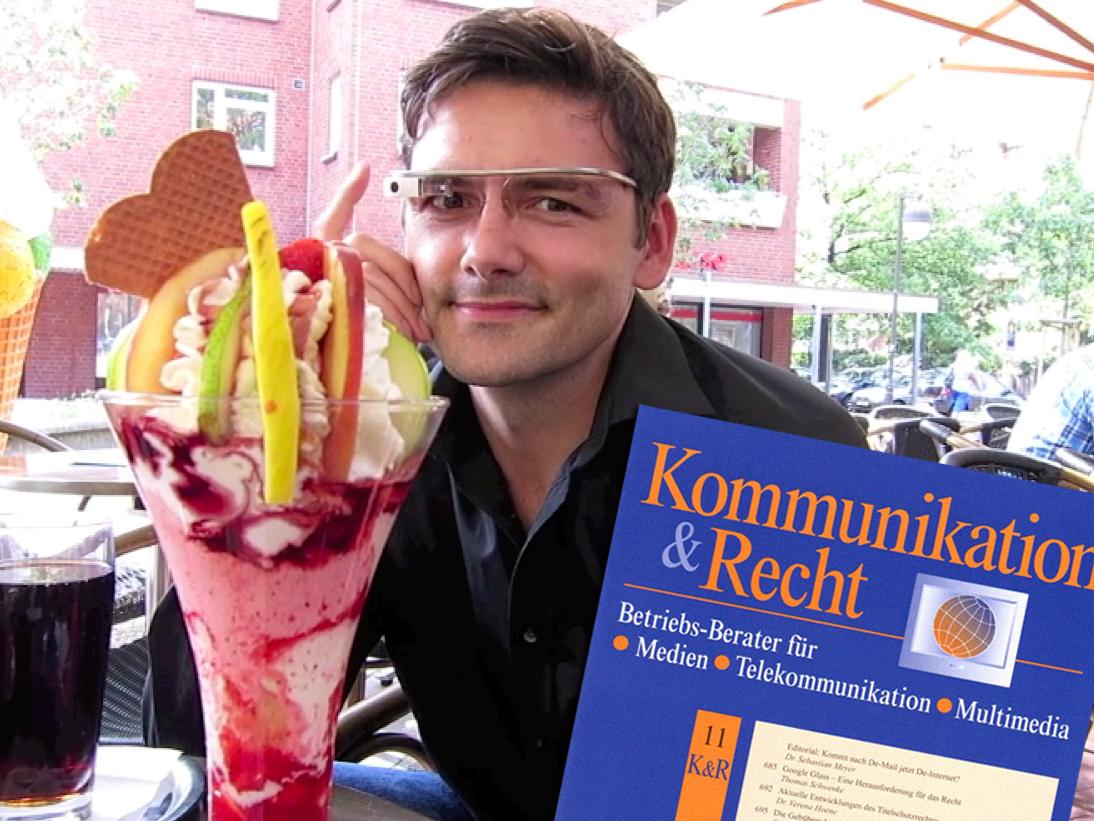 """Fachaufsatz """"Google Glass – Eine Herausforderung für das Recht"""" in """"Kommunikation & Recht"""" 11/2013"""