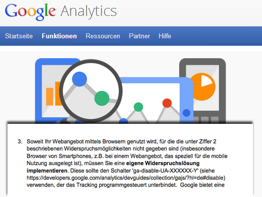 Google Analytics Mobile Opt-Out