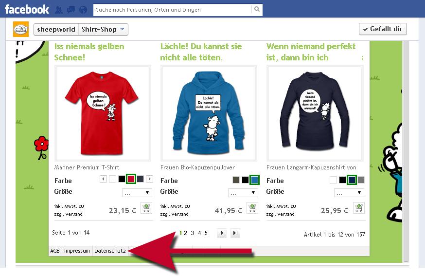 Beitragshinweis zu rechtlichen Basics für Facebook-Seiten: Name, Impressum, Datenschutzerklärung, Disclaimer & Netiquetten