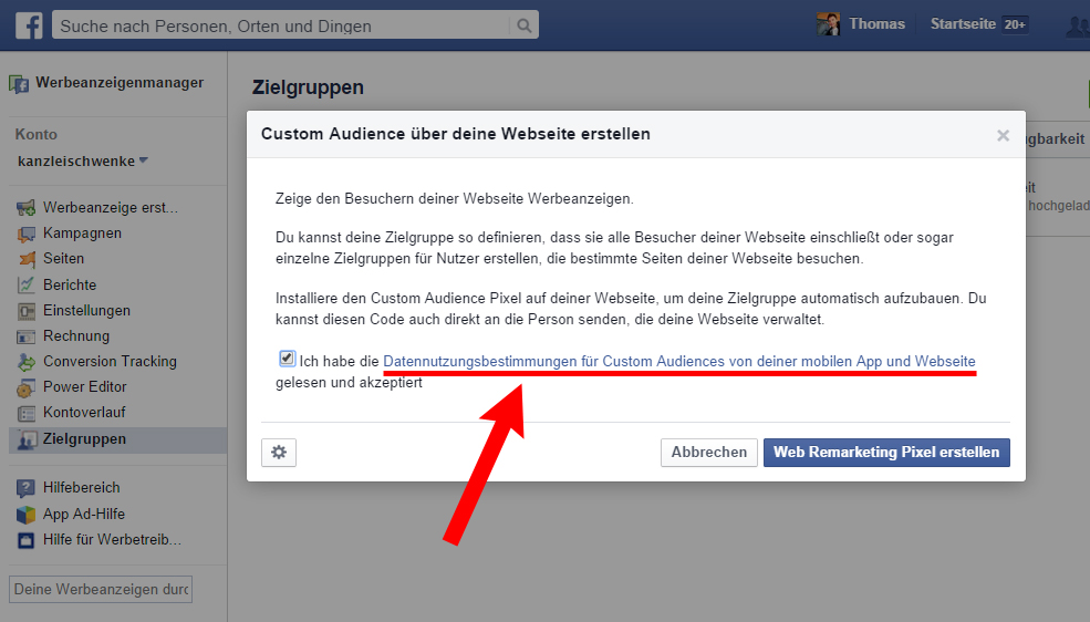 "Facebooks ""Custom Audiences"" & Datenschutz – Anleitungen & Podcast"