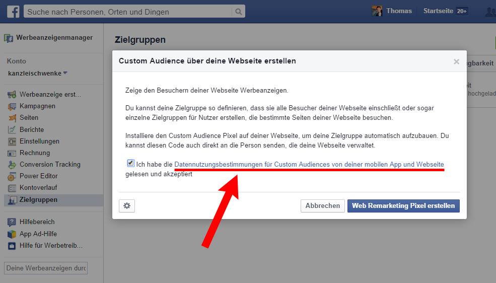"""Facebooks """"Custom Audiences"""" & Datenschutz – Anleitungen & Podcast"""