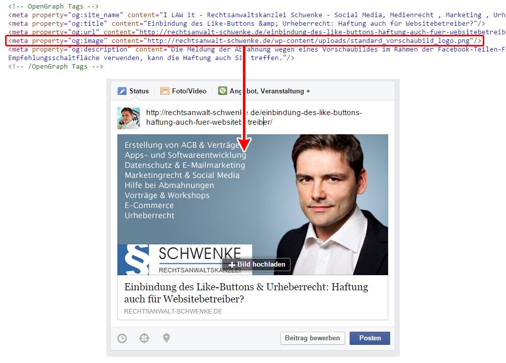 Mögliche Urheberrechtsverstöße durch Social-Media-Buttons (und Tipps zu deren Vermeidung)