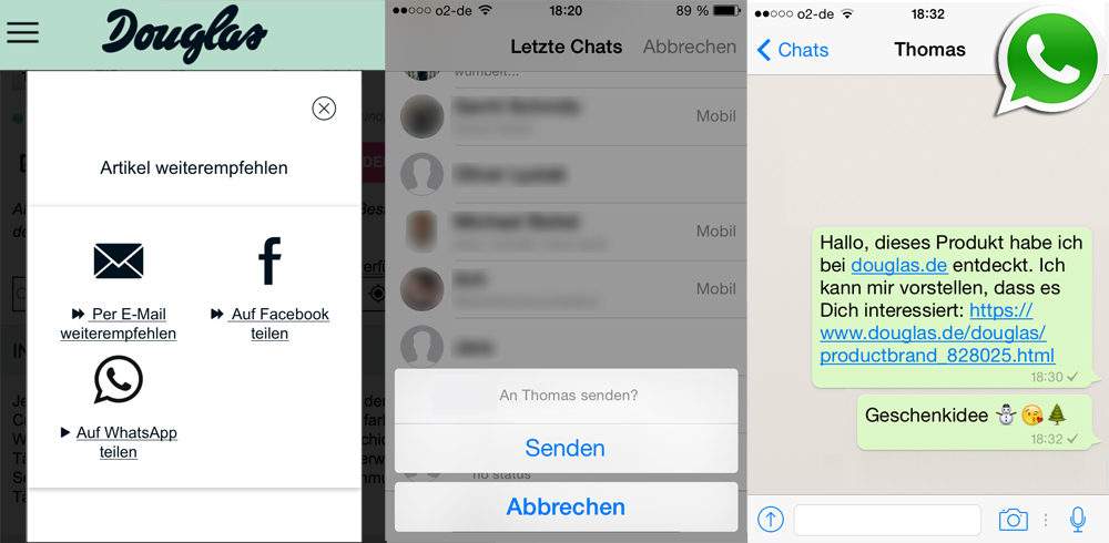WhatsApp-Marketing & Recht Teil 1: Der WhatsApp-Sharing-Button