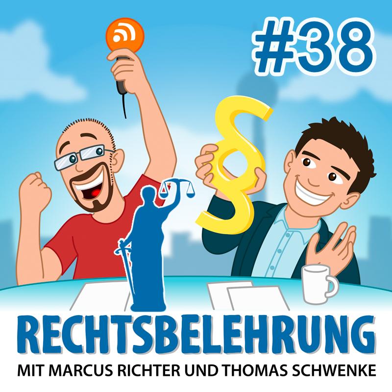 Podcasthinweis: Strafrechtsbelehrung – Rechtsbelehrung Folge 38