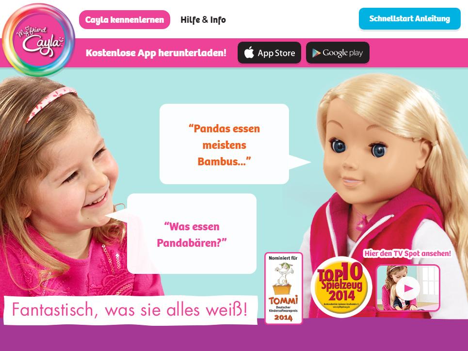 """Muss die Spielzeugpuppe Cayla wirklich zerstört werden? – Verbot von """"Minispionen"""" und verkürzte Berichterstattung"""