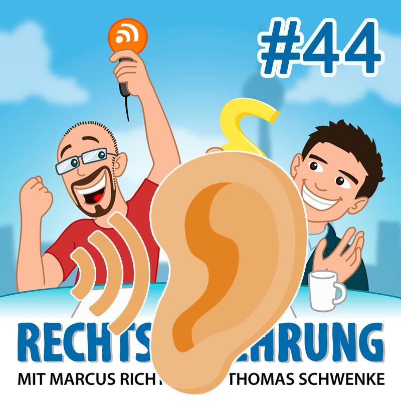 Podcasthinweis: Sprechende Puppen und andere Minispione – Rechtsbelehrung Folge 44