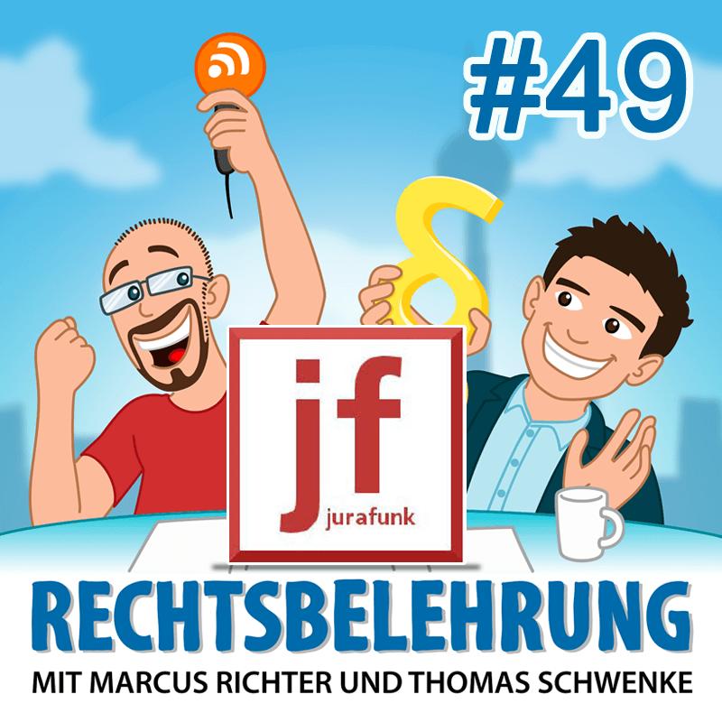 Podcasthinweis: Jurafunk, Rechtsirrtümer und der verschwundene Glühweinbecher – Rechtsbelehrung Folge 49