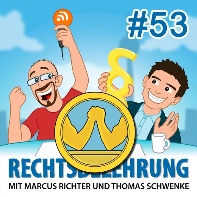 Podcasthinweis: Kartellrecht, Marktmacht und Facebook – Rechtsbelehrung Folge 53 (Jura-Podcast)