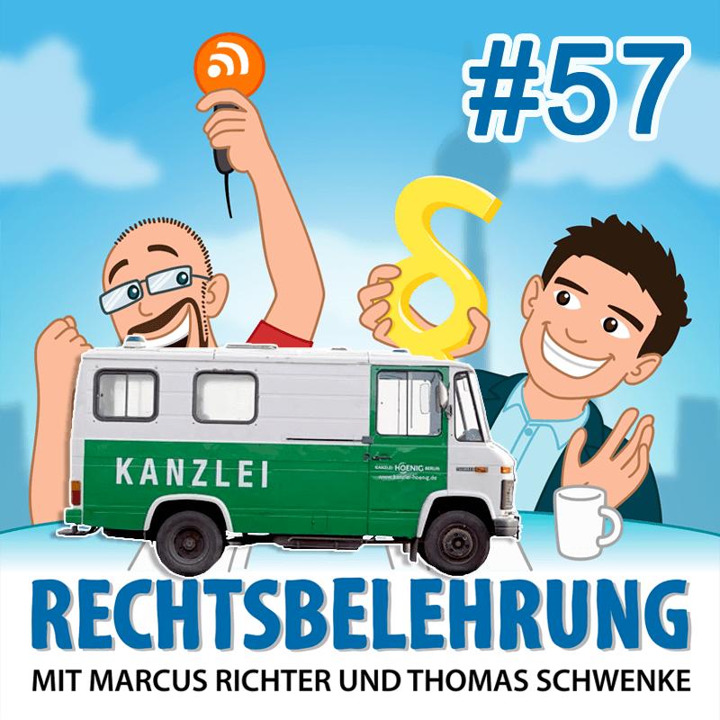 Podcasthinweis: Strafrechtsmythen – Rechtsbelehrung Folge 57