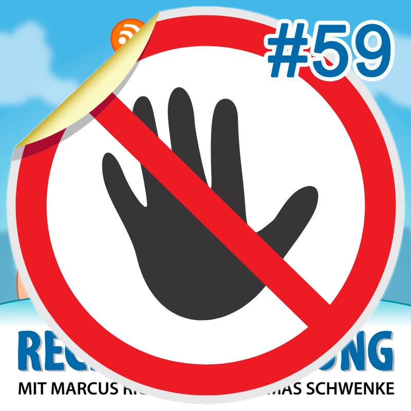 """Podcasthinweis: """"Virtuelles"""" Hausrecht – Rechtsbelehrung Folge 59"""