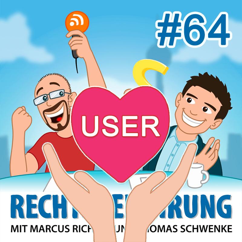 Podcasthinweis: Wie viel Bevormundung braucht der User im Datenschutz? – Rechtsbelehrung Folge 64