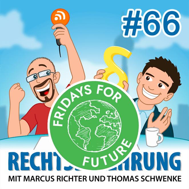 Podcasthinweis: Schulpflicht, Schulstreiks und #FridaysForFuture – Rechtsbelehrung Folge 66