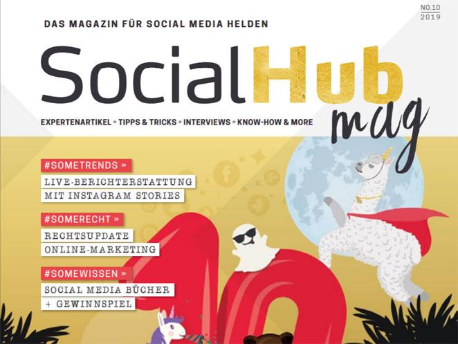 Wenn es kein Falsch und kein Richtig gibt – Gastbeitrag zu Social Media Recht 2019 im SocialHub Mag