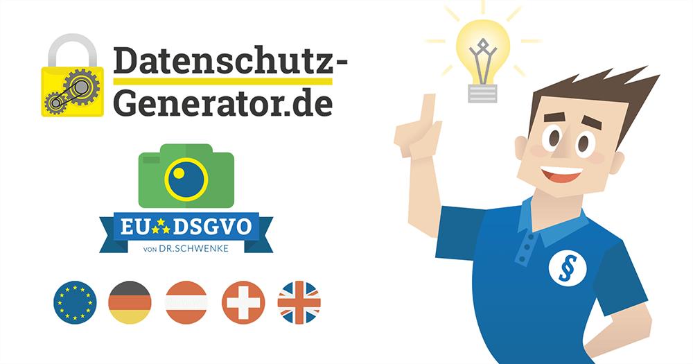 Kostenloser Generator für DSGVO-Hinweise auf Foto- und Videoaufnahmen bei Veranstaltungen