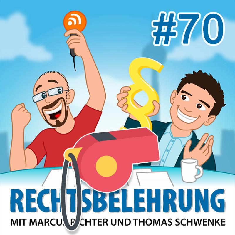 Podcasthinweis: Whistleblowing-Richtlinie – Rechtsbelehrung Folge 70