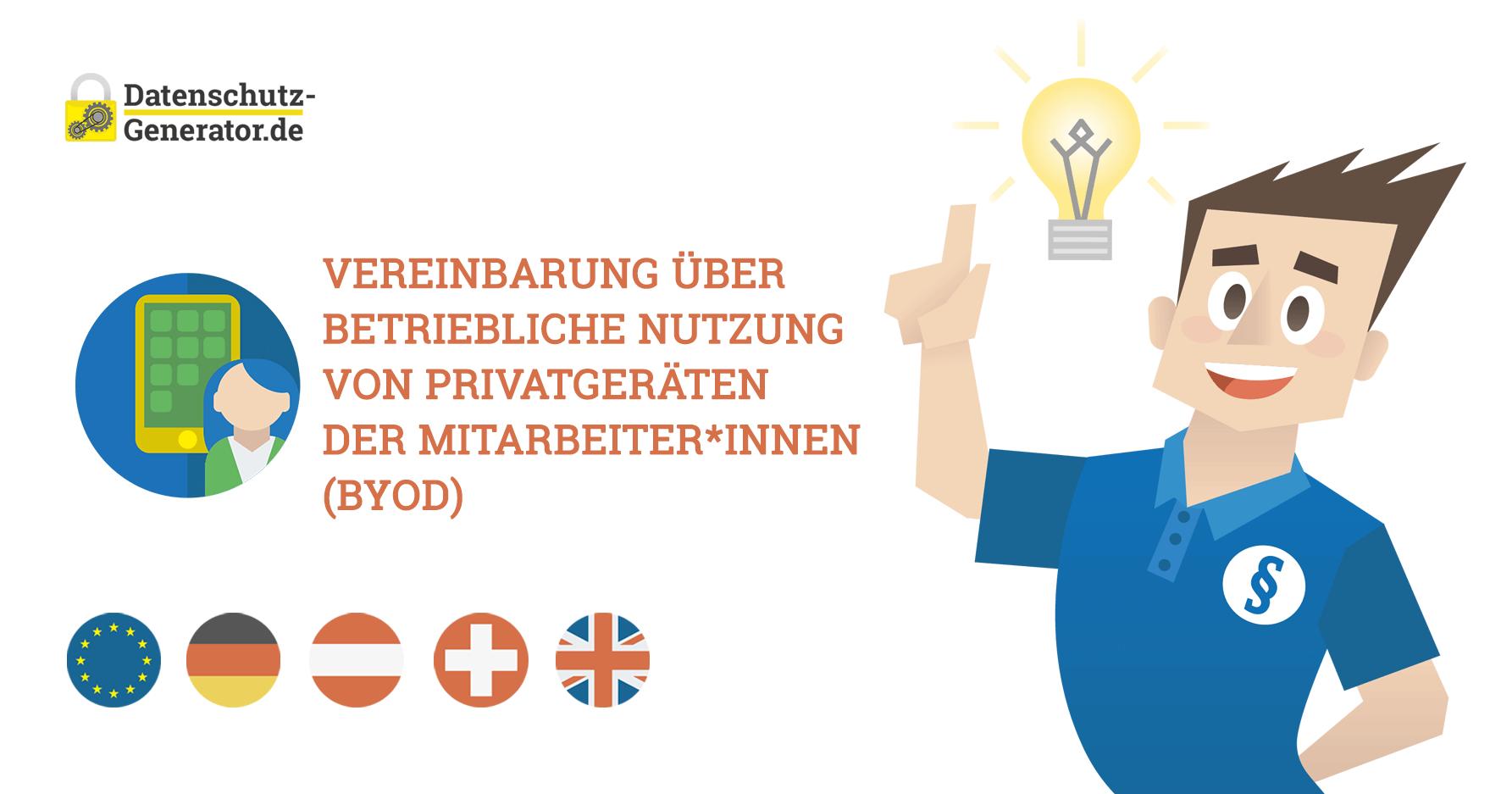Nutzen Ihre Mitarbeiter*innen private Geräte für berufliche Aufgaben (BYOD)?