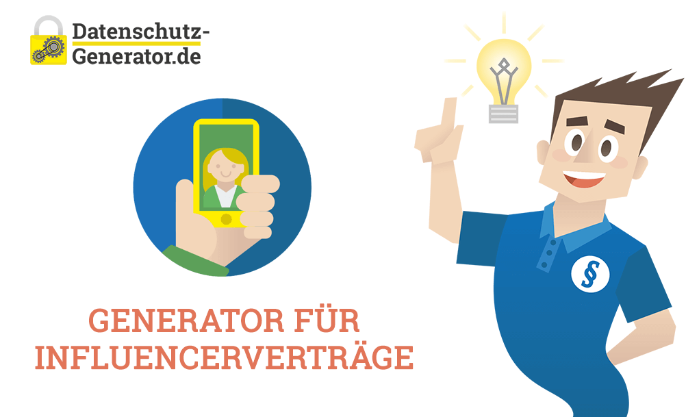 Neu: Generator für Influencerverträge